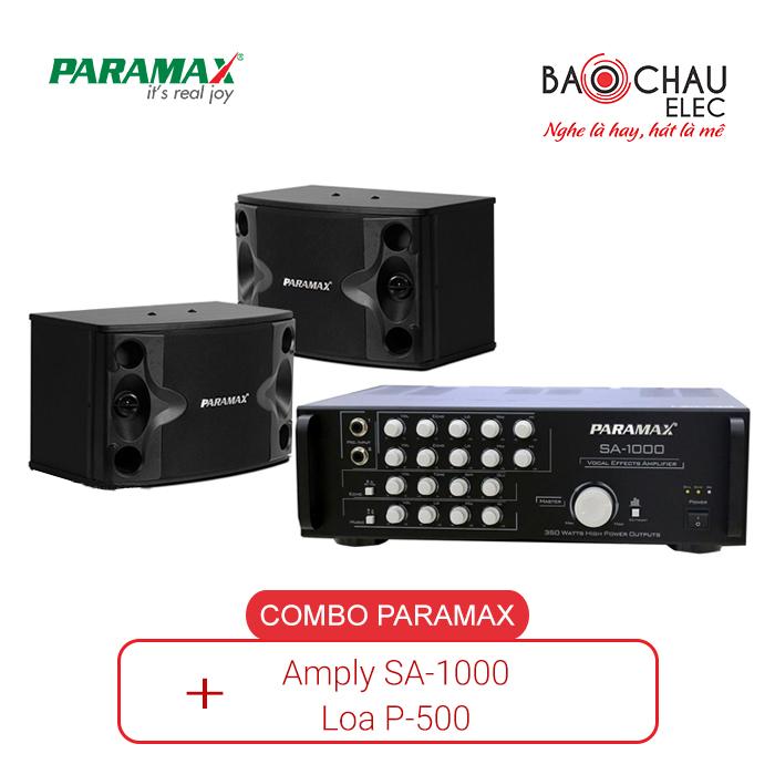 Combo Paramax SA-1000 và Loa P500