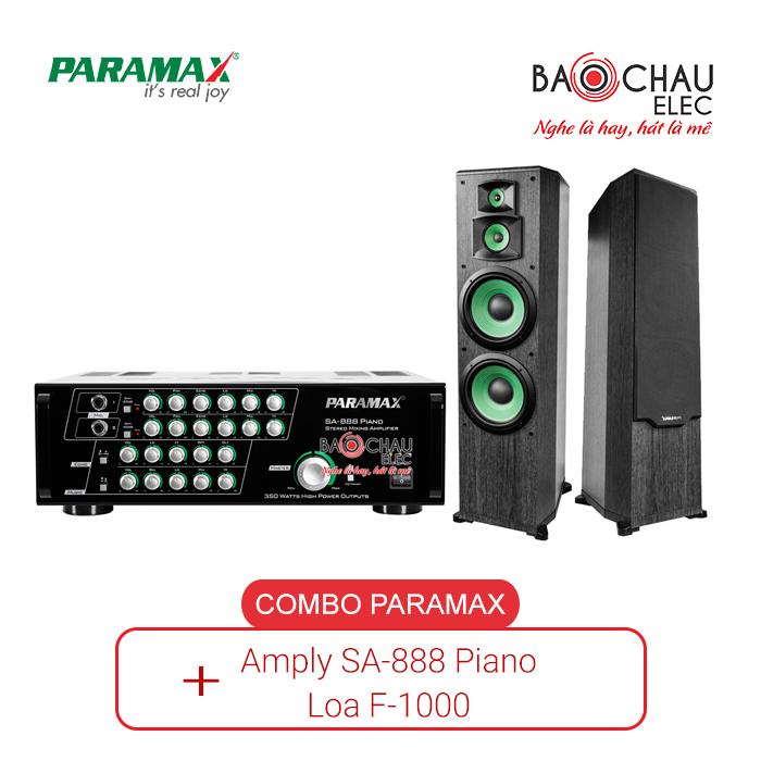 Combo Paramax 888 Piano và Loa F1000