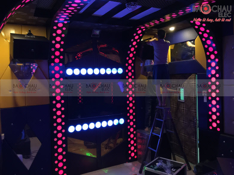 Cong trinh karaoke Xanh - Do Cao Bang - anh 5