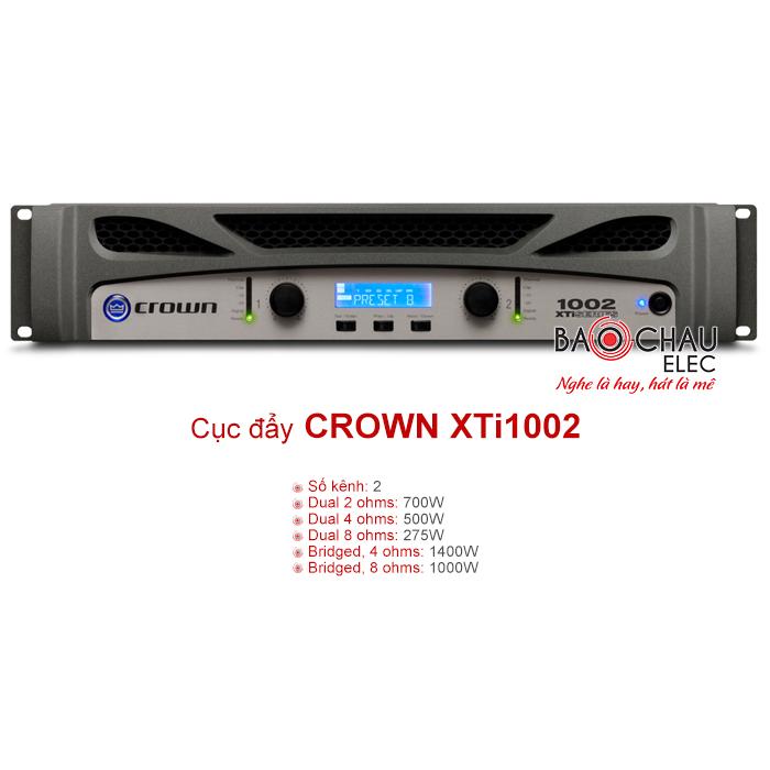 Cục đẩy công suất Crown XTi 1002