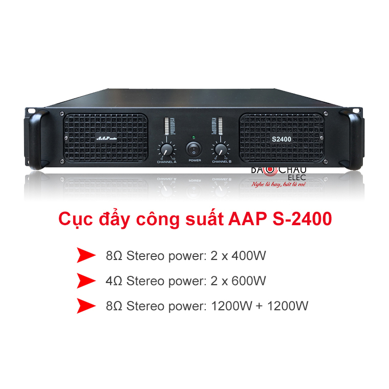 Cuc day AAP audio S-2400