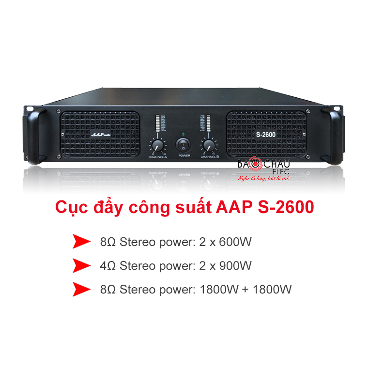 Cuc day AAP audio S-2600