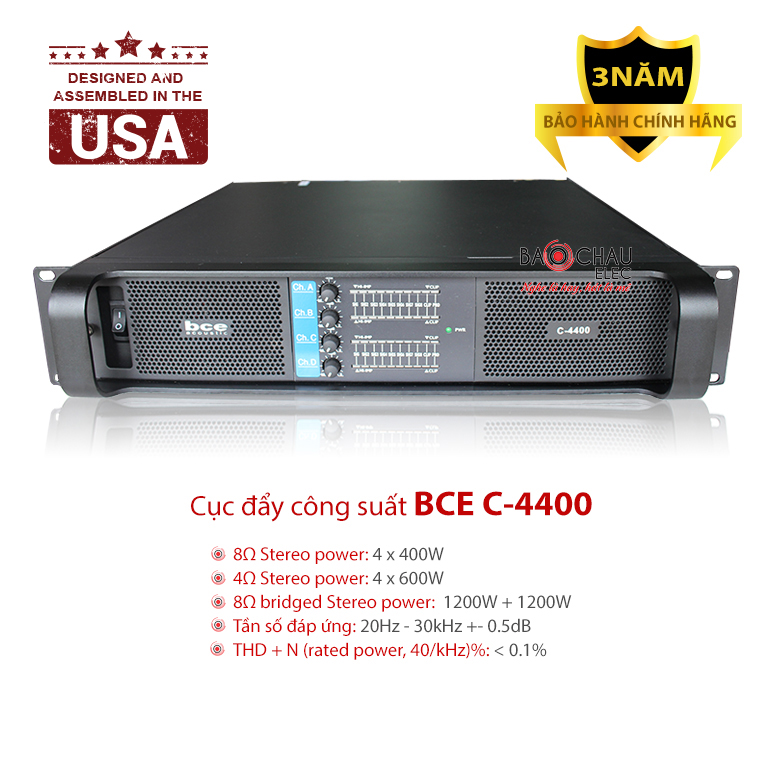 Cục đẩy BCE C-4400
