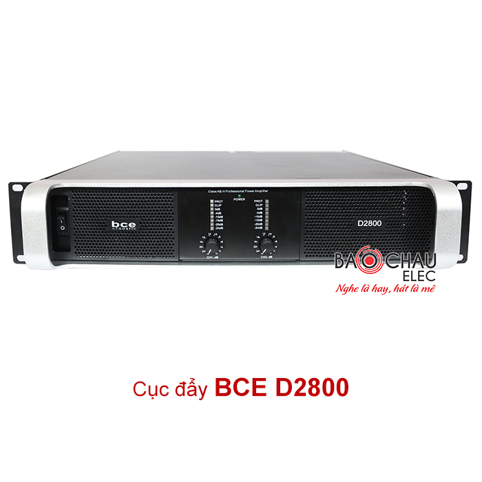 Cục đẩy công suất BCE D2800 chính hãng, giá cực tốt