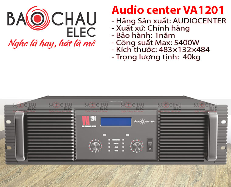 Cục đẩy Audiocenter VA1201