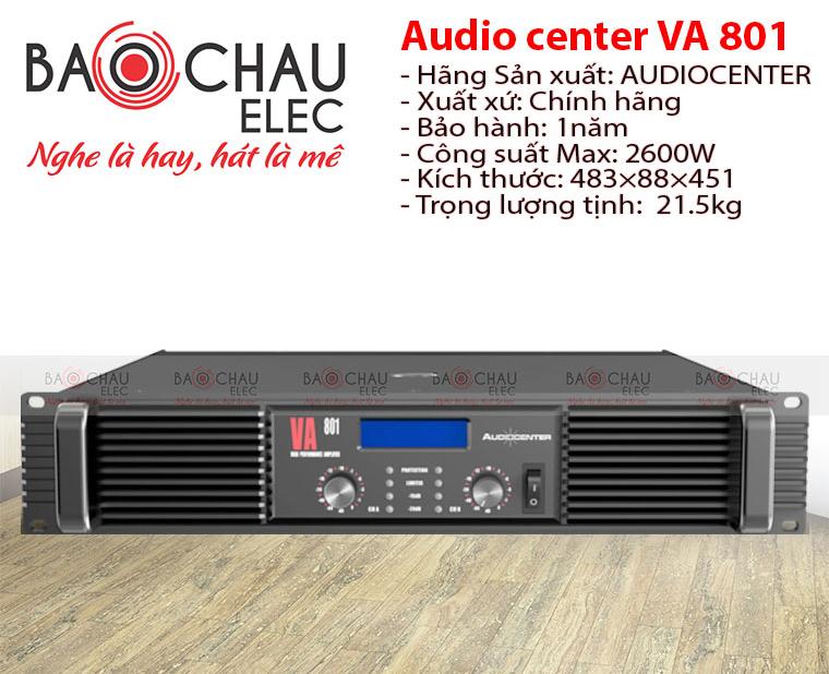 Cục đẩy Audiocenter VA801