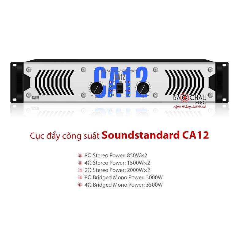 Cục đẩy công suất Soundstandard CA12