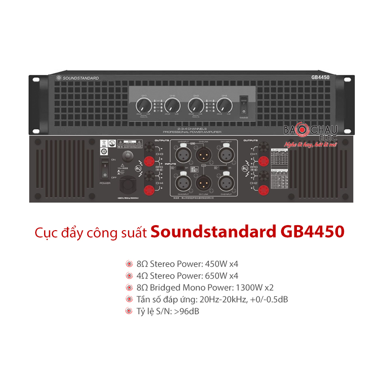Cục đẩySoundstandard GB4450