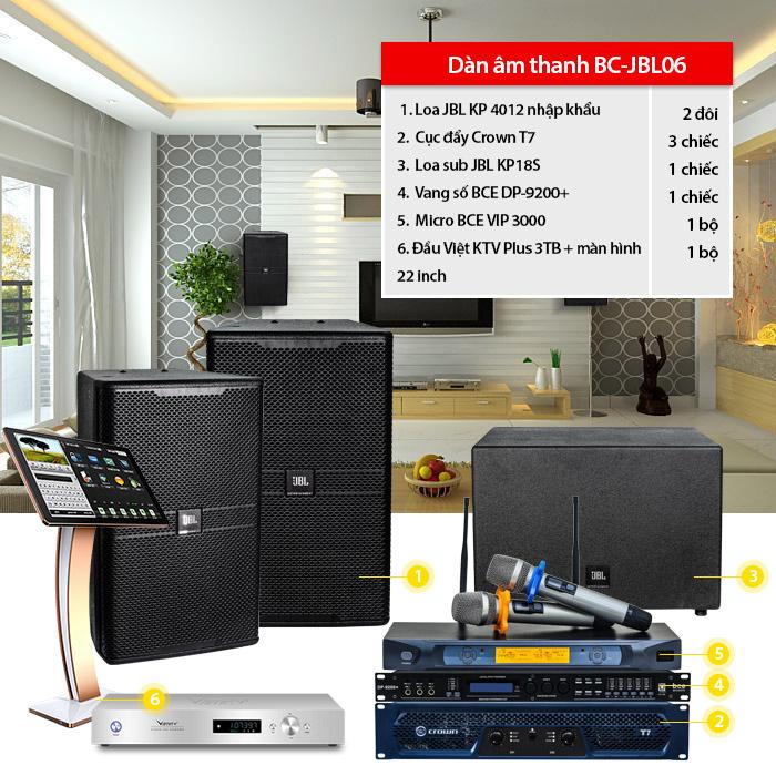 Dàn âm thanh BC-JBL06