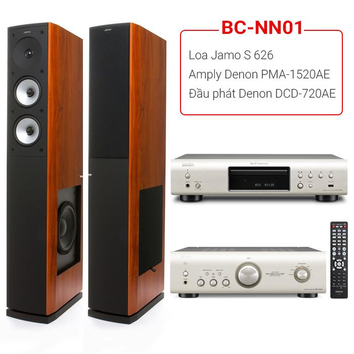 Tham khảo các bộ dàn âm thanh nghe nhạc hay, giá tốt khác tại Bảo Châu Audio