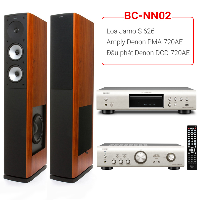 Dàn âm thanh nghe nhạc BC-NN02