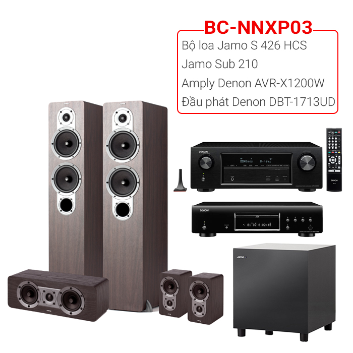 Dàn nghe nhạc, xem phim BC-NNXP03 (20m2⬇️)
