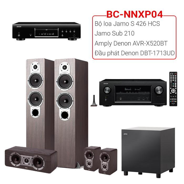 Dàn nghe nhạc, xem phim BC-NNXP04 (20m2⬇️)