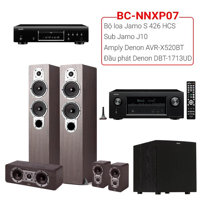 Dàn âm thanh nghe nhạc xem phim BC-NNXP07