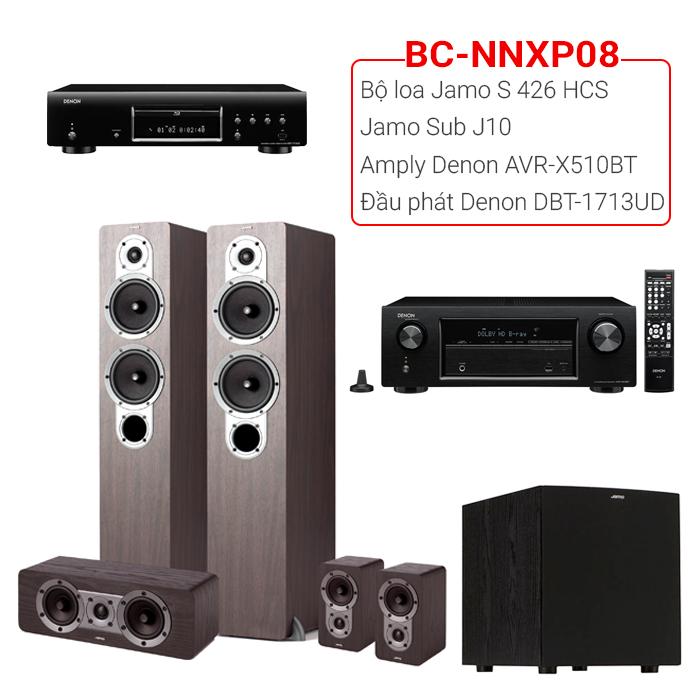 Dàn âm thanh nghe nhạc xem phim BC-NNXP08