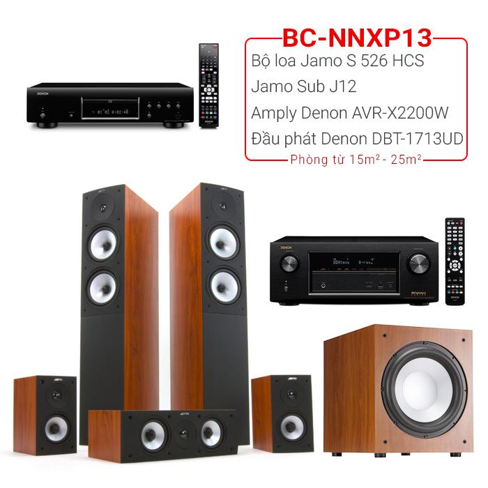 Dàn âm thanh nghe nhạc xem phim BC-NNXP13