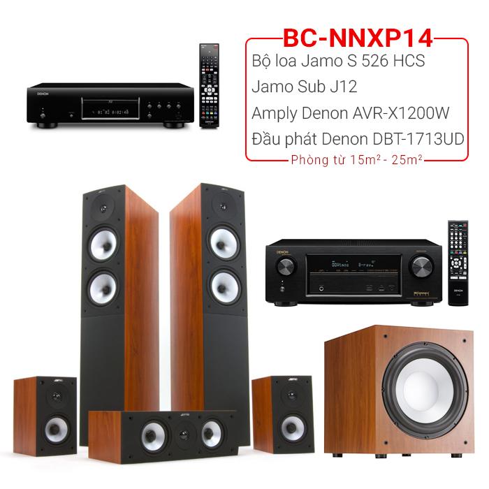 Dàn âm thanh nghe nhạc xem phim BC-NNXP14