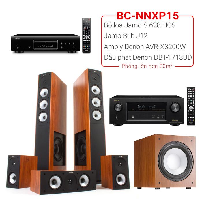 Dàn nghe nhạc, xem phim BC-NNXP15 (20m2⬆️)