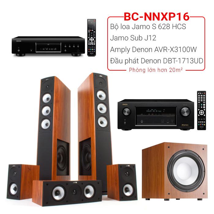 Dàn nghe nhạc, xem phim BC-NNXP16 (20m2⬆️)