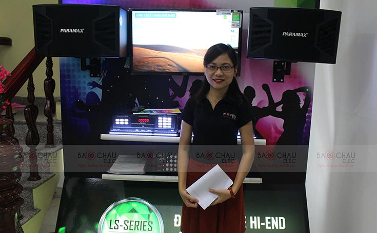 Dàn âm thanh Paramax hiện đại tại Bảo Châu Elec