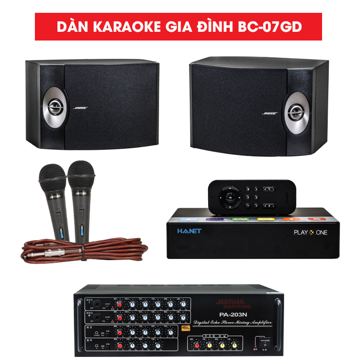 Dàn karaoke gia đình BC-07GD
