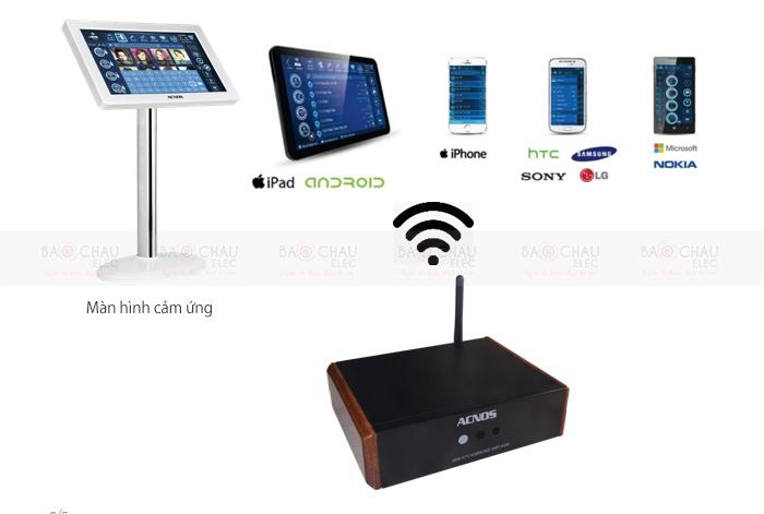 Đầu Acnos Mini Karaoke Wifi KM2 - tính năng 1