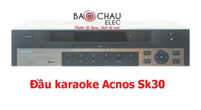 Đầu karaoke Acnos Sk30