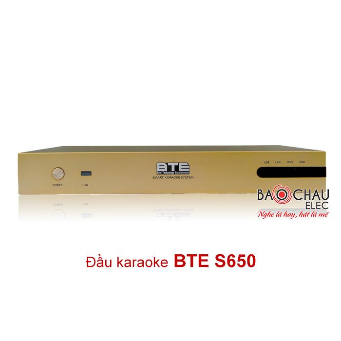 Đầu karaoke BTE S650 4TB giá tốt nhất thị trường