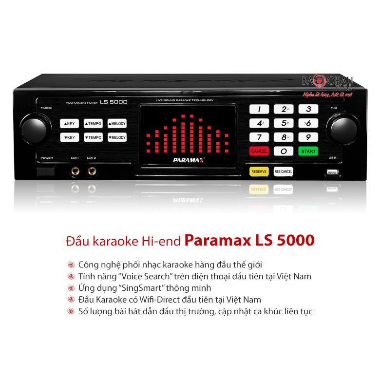 Đầu Paramax LS 5000 3TB