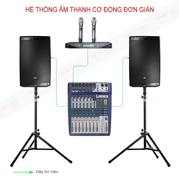 Dàn âm thanh cơ động đơn giản BC-JBL04
