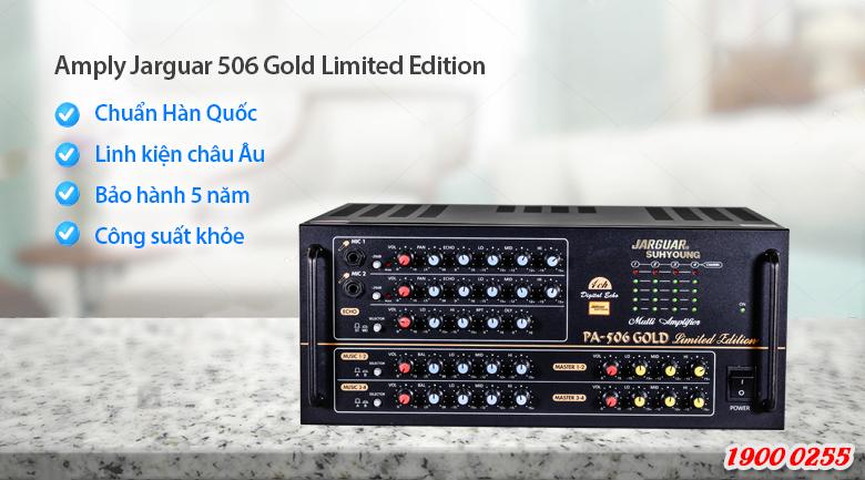 Amply Jarguar Suhyoung 506 Gold Limited Edition xứng đáng có mặt trong top 10 amply karaoke hay nhất hiện nay