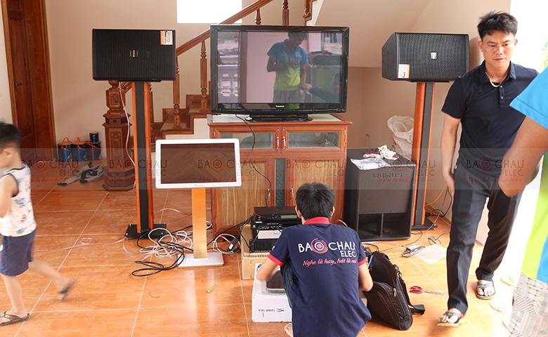 Lắp đặt dàn âm thanh karaoke gia đình, giải trí tại Ninh Bình - pic 01