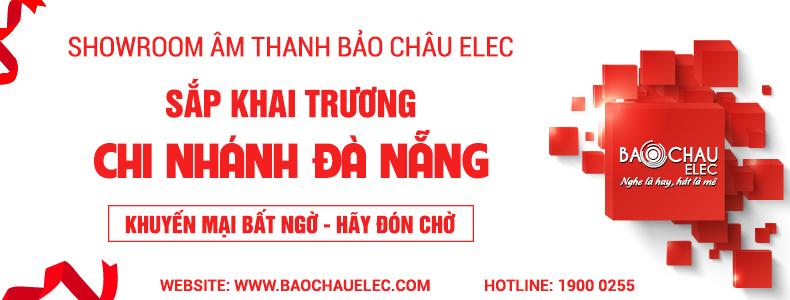 Thông báo sắp khai trương showroom Bảo Châu Elec Đà Nẵng