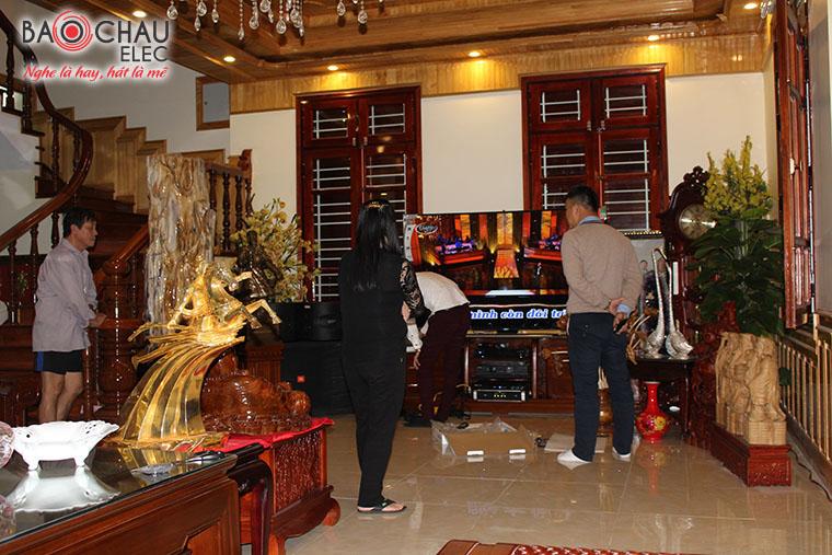 Lap dat bo dan cao cap tai biet thu Tuyen Quang - 02