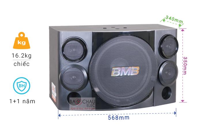 Loa BMB CSE 312 thông số