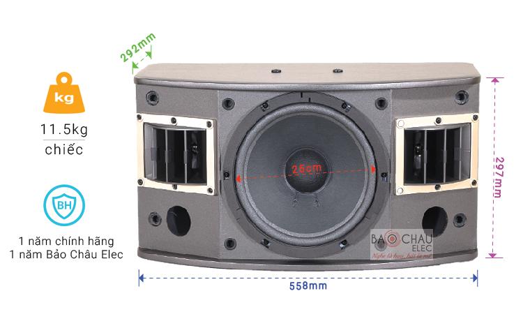 Loa BMB CSV 450SE chỉ số-01