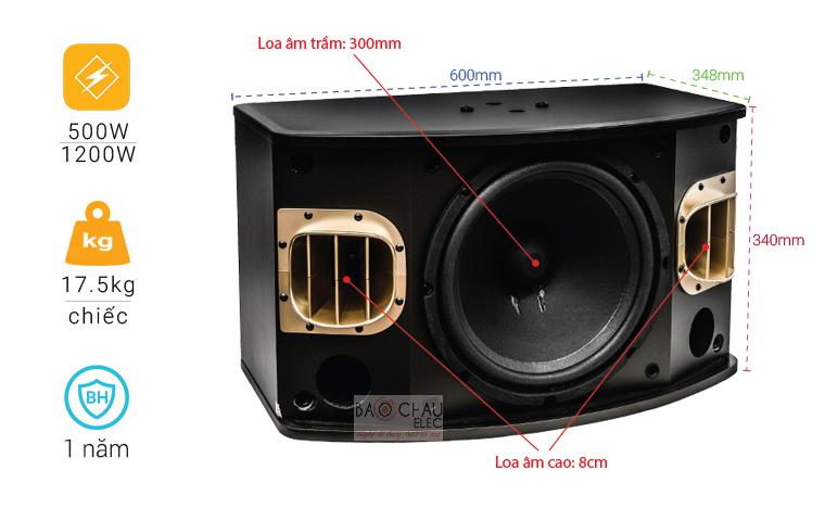 Loa BMB CSV 900C like new chỉ số