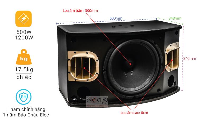 Loa BMB CSV900SE chỉ số-01