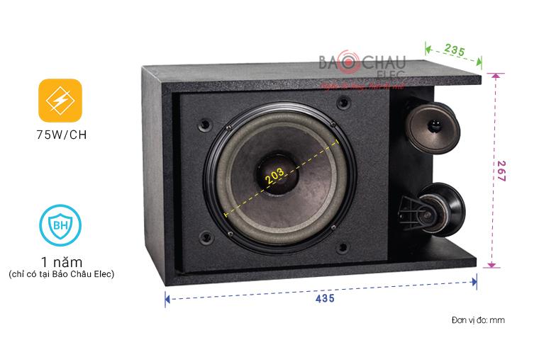 Loa Bose 301 series III chỉ số