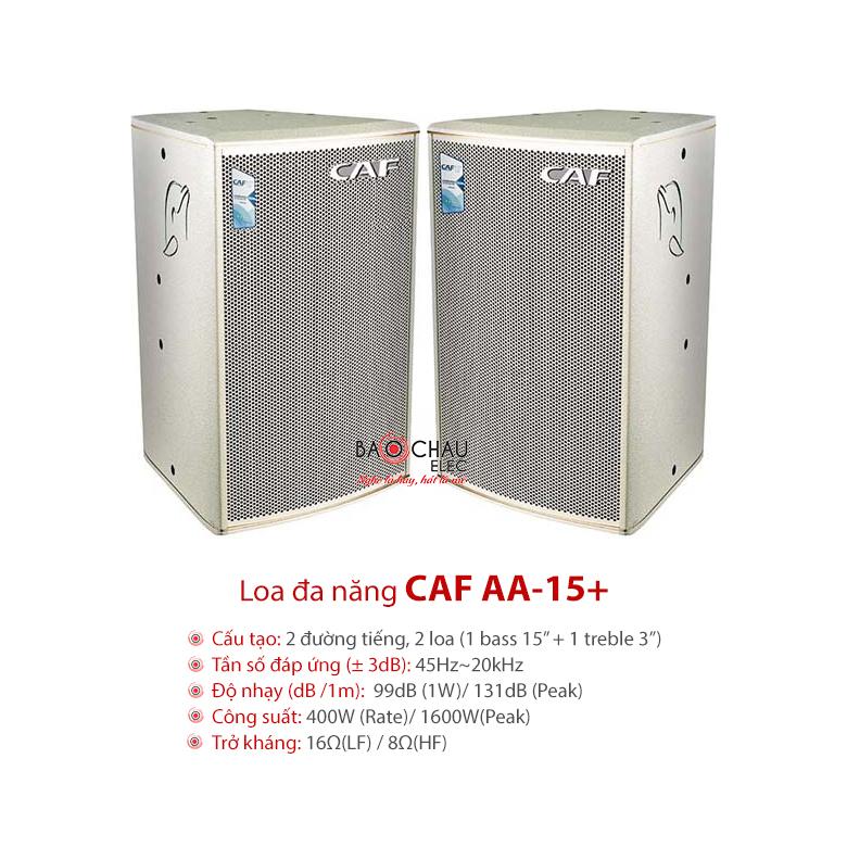Loa đa năng CAF AA-15+