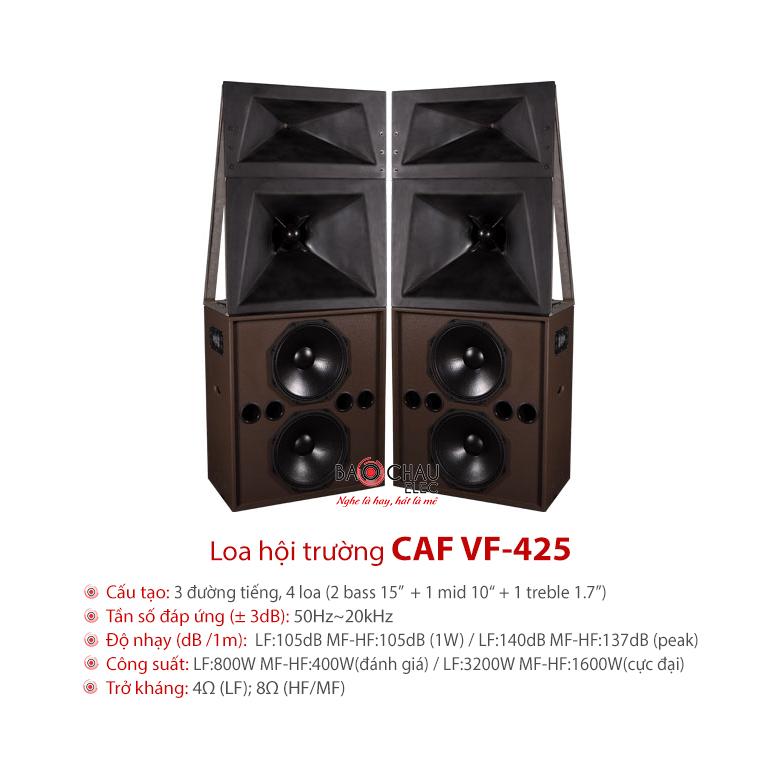Loa CAF VF 425