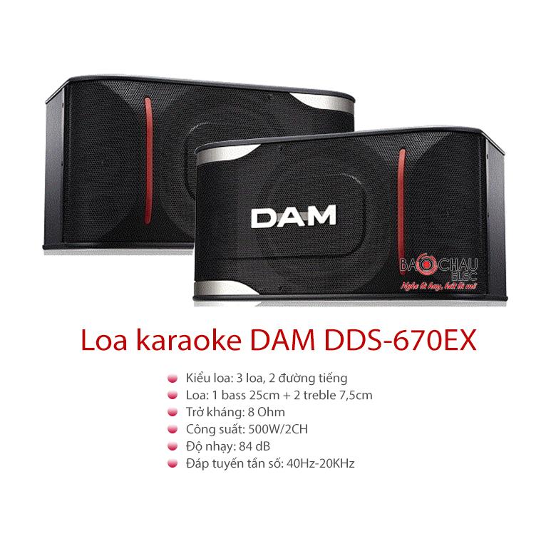 Xem thêm: Loa karaoke DAM DDS-670EX bass 25