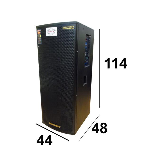 Loa di động GD215-03 kích thước