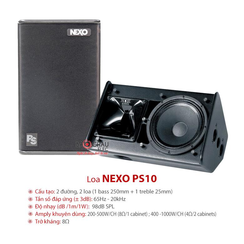Loa hội trường Nexo PS10