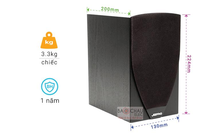 Loa Jamo C601 chỉ số-01