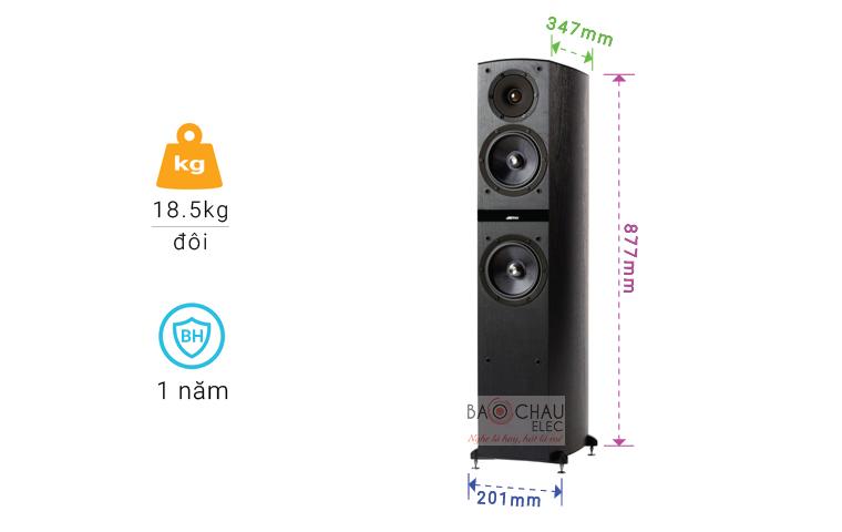 Loa Jamo C805 chỉ số-01