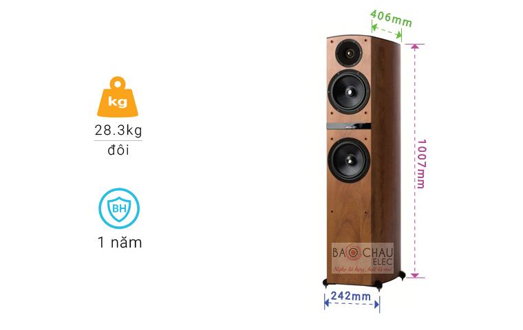 Loa Jamo C807 chỉ số-01