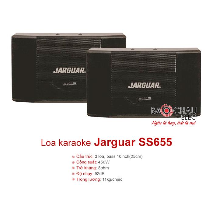 Loa Jarguar SS655