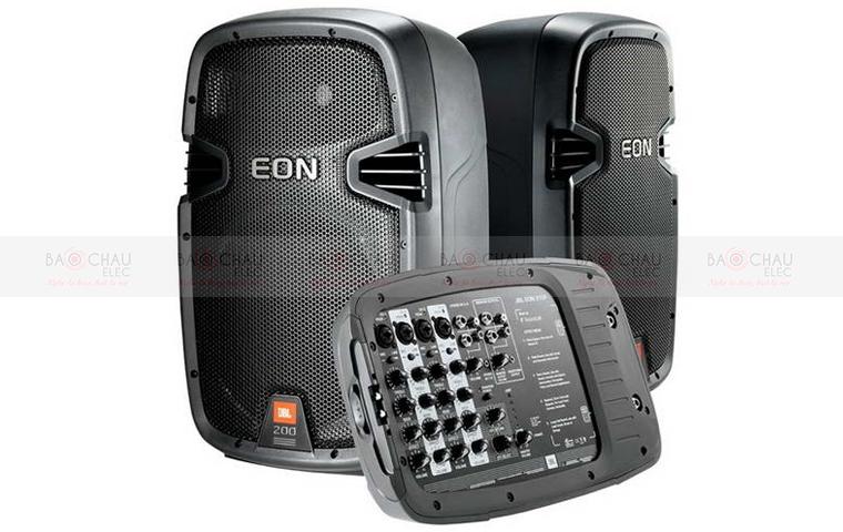 Loa di động JBL EON 210P kèm mixer chỉnh nhạc