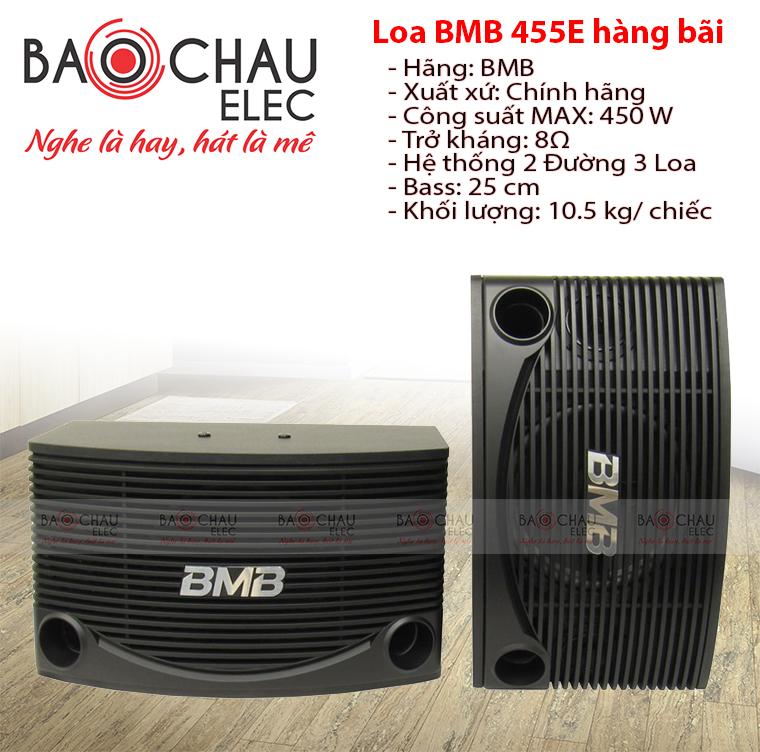 Loa karaoke BMB CSN 455 hàng bãi